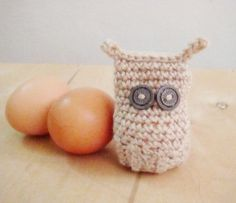 Crochet PDF PATTERN Easter Amigurumi Owl Egg Cover Cozy by faima, $2.50