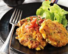 Kiwi Corn Fritters http://www.foodinaminute.co.nz/Recipes/Kiwi-Corn-Fritters#