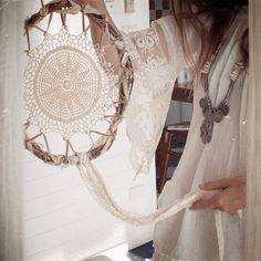 ✔ Apanhador de sonhos Crochê