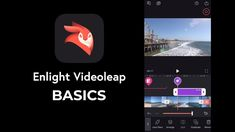 Learn all About Enlight Videoleap in 5 Minutes Good Video Editing Apps, Future Videos, Mobile Video, Lens Flare, All Video, Photoshop Tutorial, Lightroom, You Videos, Double Exposure
