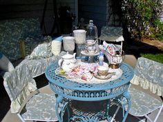 Happy To Design: A Summer's Tea on the Veranda