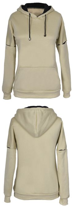 Warm up with $21.99 Only! Free shipping&easy return! This hoodie detailed with kangaroo pocket &fleece lining! Find it at Cupshe.com