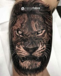 Scarred Lion http://tattoo-ideas.com/scarred-lion/