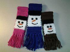 Ravelry: IndianaLori's Snowman scarf