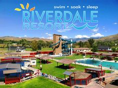 Riverdale Resort - natural mineral hot springs destination is located just five miles north of Preston, Idaho in the lovely Riverdale Valley. The four pools and two water slides provide hours of relaxation and fun. For more information call 208-852-0266 | riverdaleresort.com | Address: 3696 North 1600 East Preston, Idaho