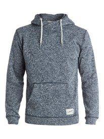 quiksilver, Keller Polar Fleece Pullover, Navy Blazer - Solid (byj0)
