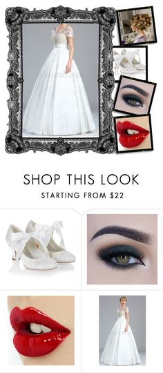 Wedding day by yasmienkhalfallah8000 on Polyvore featuring mode, Monsoon and Too Faced Cosmetics