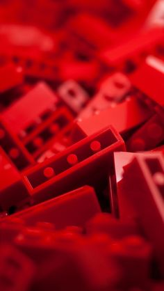 Red Lego iPhone 5 Wallpaper