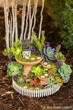Amazing DIY Mini Fairy Garden Ideas for Miniature Landscaping #Garden #landscapinggarden  #LandscapingGarden