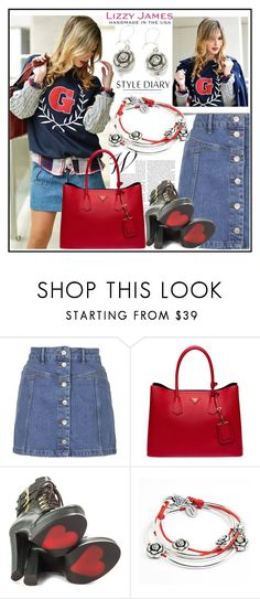 """""""Lizzy James"""" by lip-balm ❤ liked on Polyvore featuring Topshop, Prada, Luichiny, Lizzy James and lizzyjames"""