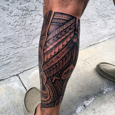 Download Free Polynesian Tribal Leg Tattoos For Men 60 hawaiian tattoos for men ... to use and take to your artist.