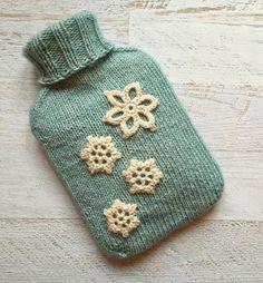 Scheepjes Christmas Blog Hop - Free Hot Water Bottle Knitting Pattern