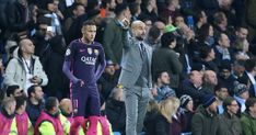 Man City manager Pep Guardiola doesn't know if Neymar will 'be the same' if he returns to Barcelona this summer. Recent rumours suggest the Brazilian wants Neymar Barcelona, Barcelona Soccer, Neymar Girlfriend, Neymar Hot, Neymar Memes, Neymar Brazil, Messi Soccer, Soccer Girl Problems, Soccer Quotes