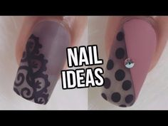 10 EASY FALL NAIL IDEAS-BEGINNERS | NAIL ART COMPILATION - YouTube