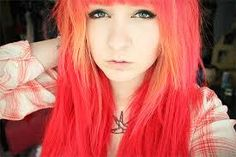 Image result for neon hair