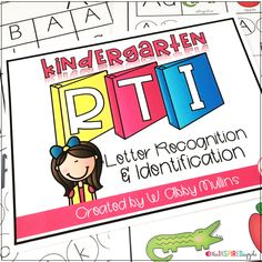 This intervention curriculum is the perfect program to implement with students who struggle with letter identification. Teachers love this Common Core Standards-based program that focuses on letter identification and recognition
