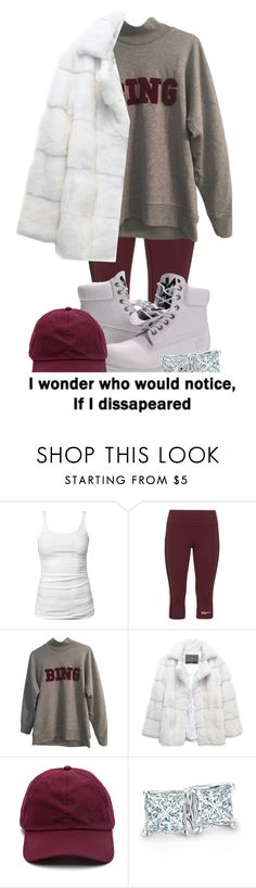 """I wonder. . ."" by hiphop4 ❤ liked on Polyvore featuring James Perse, Studio, Anine Bing, Lilly e Violetta, Timberland and Zales"