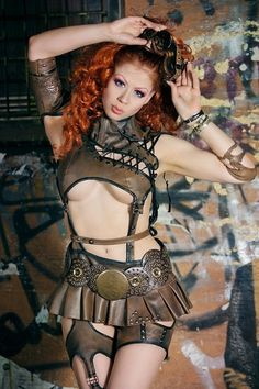 Hot Steampunk Girls #provestra