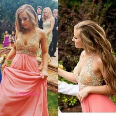 Vintage Sleeveless A Line Prom Dress,Long Prom Dress,Sexy Prom Dresses,Crystal Beaded Halter Prom Gowns F2692