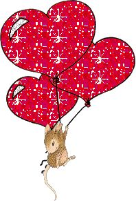 """House-Mouse & Friends Monday Challenge: Mid Way Reminder for HMFMC#187 """" Love is in the Air"""""""