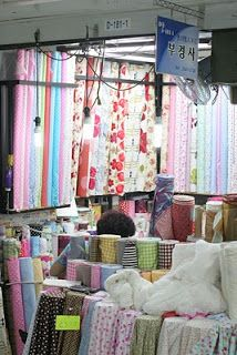 what are we making today?: Fabric shopping in Seoul at Dong Dae Mun, Part I Buy Fabric, Fabric Shop, Living In Korea, Hobbies And Crafts, Seoul, Korea Trip, Shopping, Travel, South Korea
