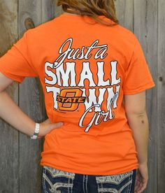 Oklahoma State University Girl Girlie Girl Originals T-Shirt e7457042a