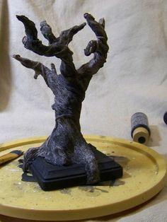 Polymer clay tree tutorial