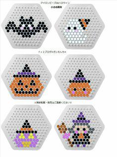 Easy Perler Bead Patterns, Perler Bead Templates, Diy Perler Beads, Perler Bead Art, Hamma Beads 3d, Fuse Beads, Hama Beads Halloween, Perler Bead Disney, Pearl Beads Pattern