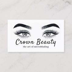 Modern Microblading , Eyebrows, Permanent Makeup Business Card Source by gericaxo Makeup Business Cards, Simple Business Cards, Brow Studio, Makeup Studio, Permanent Makeup Eyebrows, Eyebrow Makeup, Eyeliner, Eyelash Logo, Eyelash Enhancer