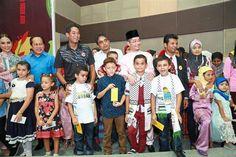 Deputy International Trade and Industry Minister, Datuk Ahmad Maslan, Khairy, Mohamed Hazali, Rohingya, Palestinian children