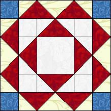 Block of Day for June 02, 2015 - Texas Stars and Stripes