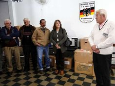 Región | Donaciones alemanas para instituciones esperancinas (Foto: EDXD) | Leé la nota completa en http://www.pilarenlaweb.com.ar/2012/07/region-donaciones-alemanas-para.html