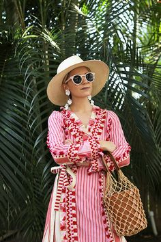 Blair Eadie Atlantic-Pacific Blog Red & Pink Resort Look