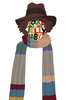 renduh:    While I'm at it, here's a Tom Baker Dr Who design I finished last week Would You Like A Jelly Baby?