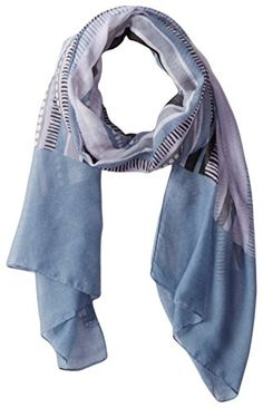 White Sierra Women's Kool Printed Gauze Scarf, Quarry, One Size *** You can get additional details at the image link.