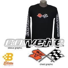New Corvette Mens Long Sleeved Tees from B Elite Designs. These are sure to be a favorite part of your wardrobe for the cooler fall and winter months. Perfect for either a man or a woman who love wearing the hottest clothing featuring their favorite Corvette Generations. These Corvette C3 Shirts are also available in …