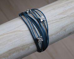 DIY petrol bracelet