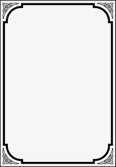 Black frame PNG and Clipart Frame Border Design, Boarder Designs, Photo Frame Design, Page Borders Free, Page Borders Design, Free Clipart Borders, Borders For Paper, Borders And Frames, School Binder Covers