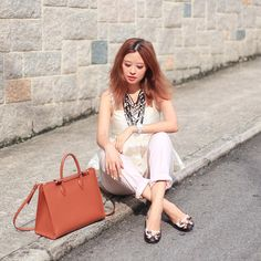 Mellow Mayo with The Strathberry Tote in Tan