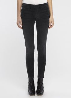 Skinny cords from Vince.  I love the boots too!
