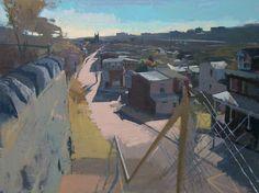 "Peter Van Dyck ""Bala Cynwyd From Terrace Street"""