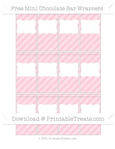 Free printable chocolate candy bar wrapper box template for Free mini candy bar wrapper template