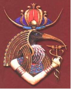 Thoth (Ibis Headed god of Wisdom)