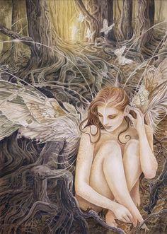 Erotic nude fantasy fairies