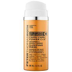 Peter Thomas Roth - Camu Camu Power C x 30™ Vitamin C Brightening Sleeping Mask #sephora