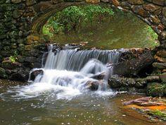 Small falls on Fordyce Mill Stream near Stone Bridge Road, Hot Springs National Park