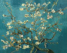 Blossoming Almond Tree I  Vincent Van Gogh