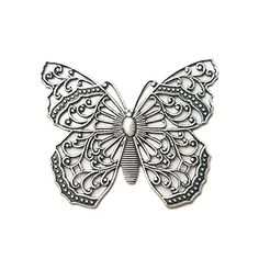 Lacy Butterfly Filigree. Tarnish Free Fine Silver Plated.... https://www.amazon.com/dp/B06XRPTW7F/ref=cm_sw_r_pi_dp_x_r700ybF631P0M
