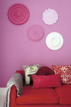 Ceiling-roses - where to get them, how to paint and how to hang