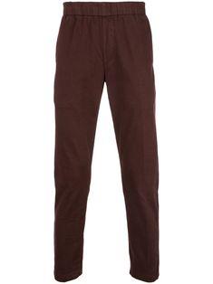 J Brand elasticated waist trousers - Red Mens Designer Skinny Jeans, Denim Branding, J Brand, Size Clothing, Women Wear, Trousers, Red, Cotton, Fashion Design
